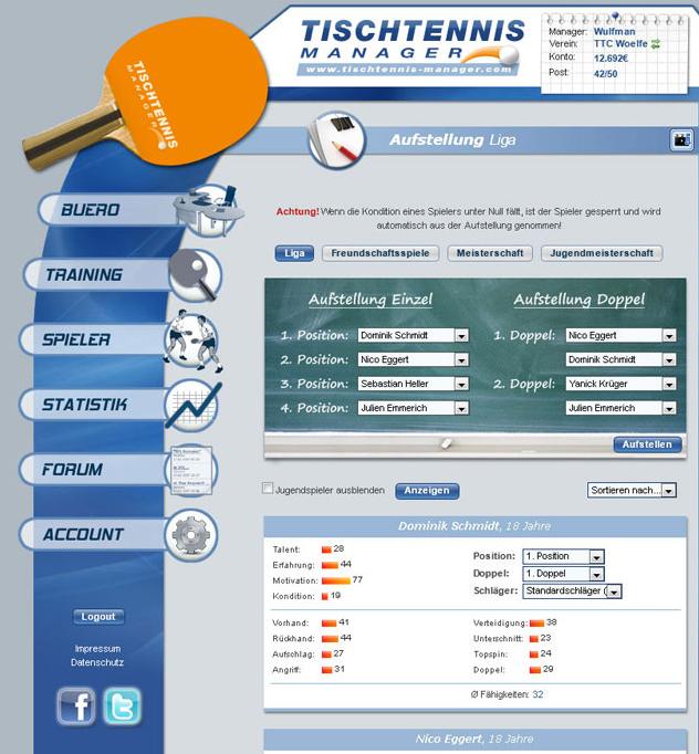 tischtennis online game