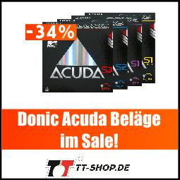 Donic Acuda Belag Angebot