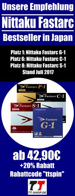 Nittaku Fastarc: Bestseller aus Japan