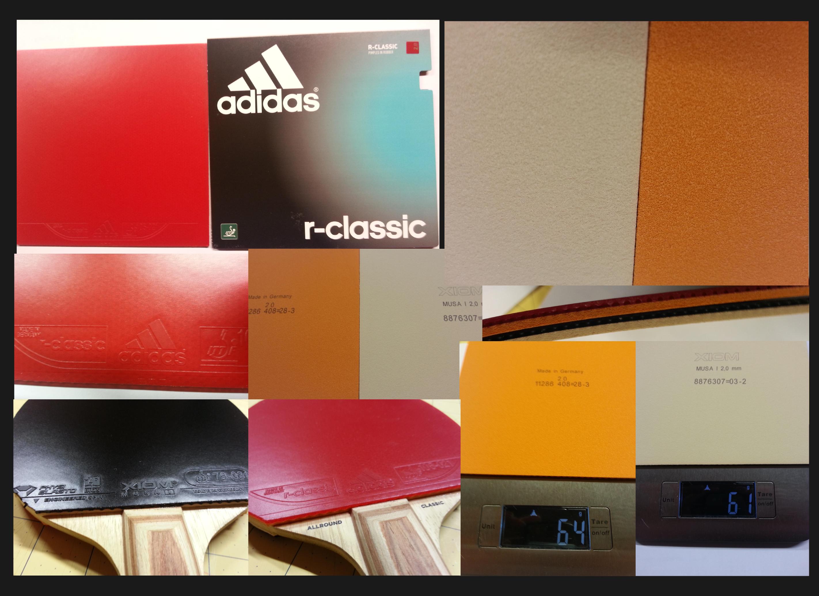adidas r-classic vs. Xiom Musa