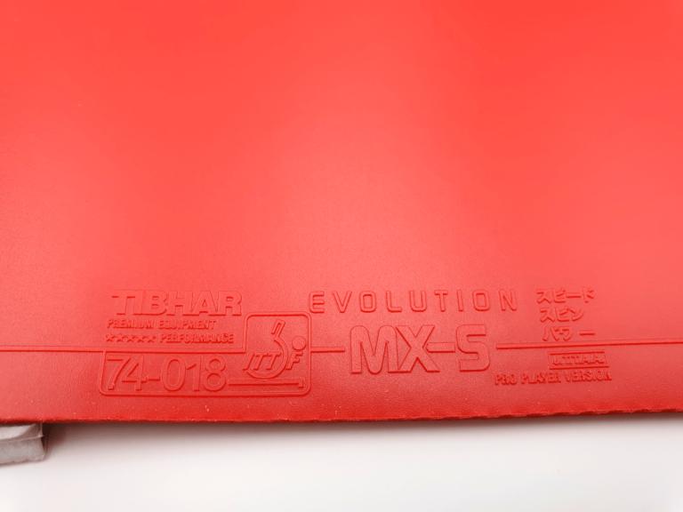 Tibhar Evolution MX-S Obergummi