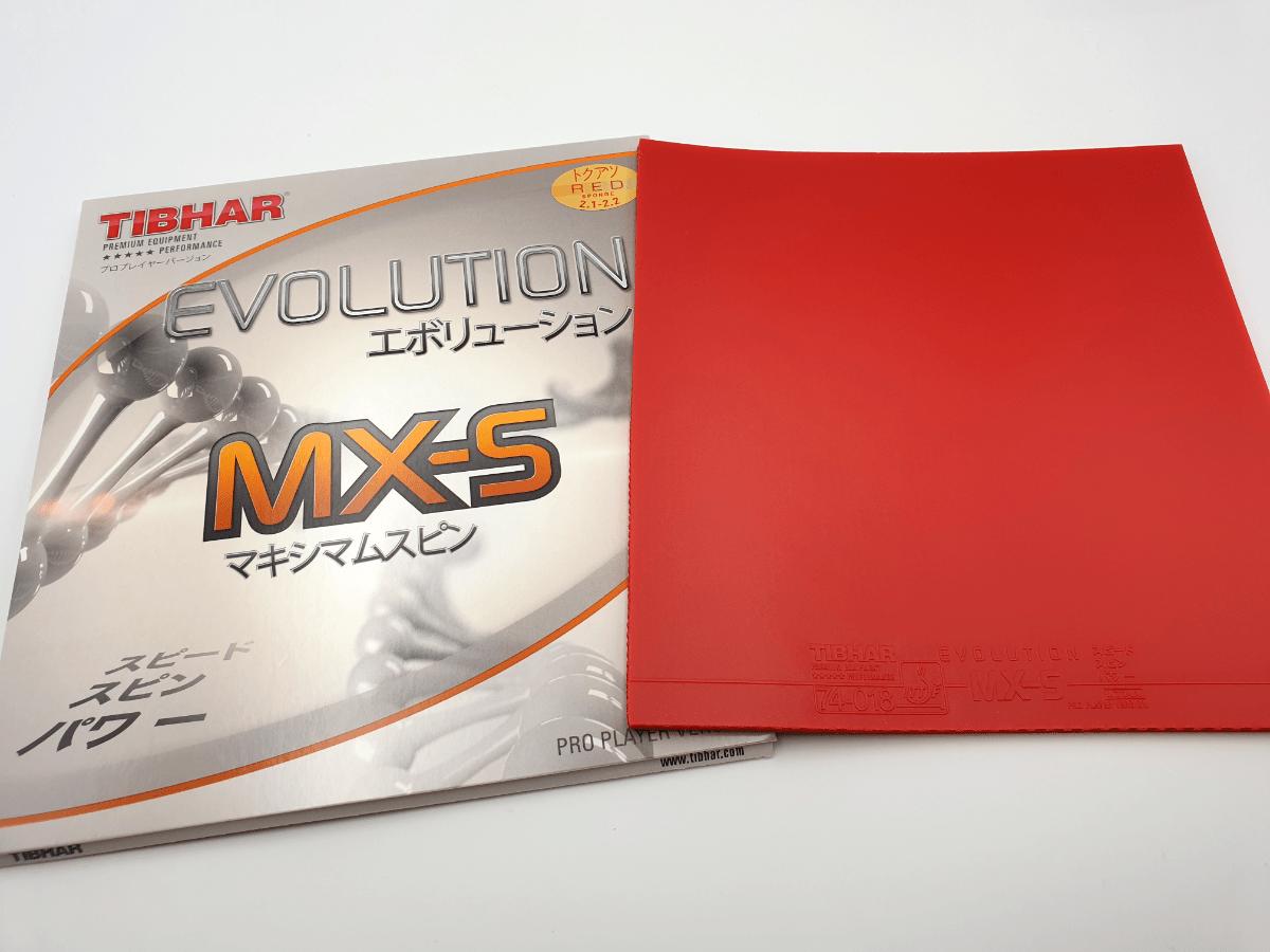 Tibhar Evolution MX-S Tischtennis Belag