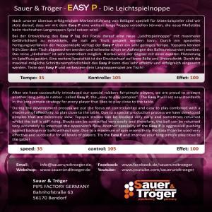 S&T Easy P Cover Rückseite