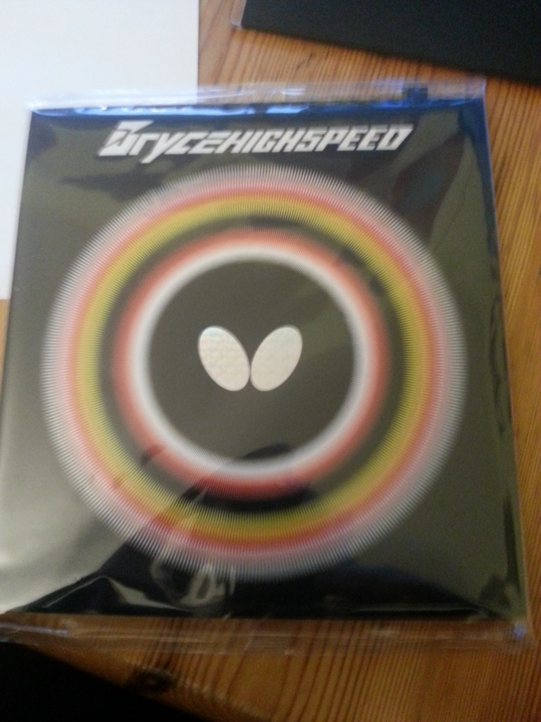 Butterfly Bryce Highspeed Cover