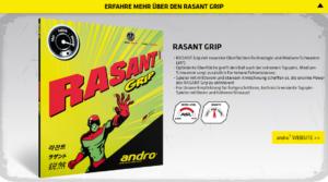 andro Rasant Navigator Rasant Grip