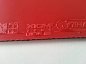 Xiom Vega Europe DF Obergummi