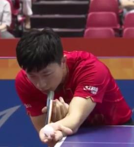 Ma Long Aufschlag Japan Open 2016