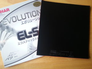 Tibhar Evolution EL-S Belag und Cover