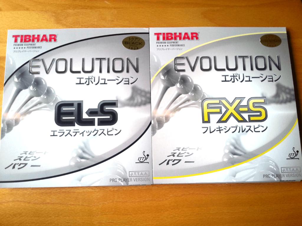 Tibhar Evolution EL-S FX-S Beläge