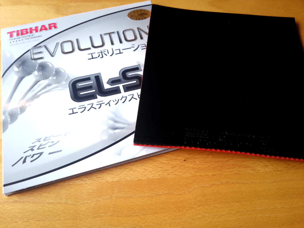 Tibhar Evolution EL-S TT-Belag schwarz
