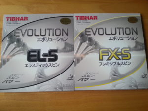 Tibhar Evolution EL-S und FX-S COver