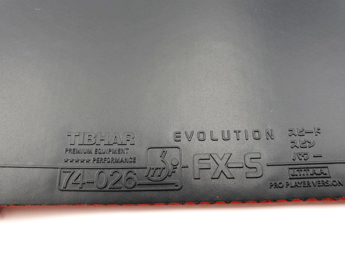 Tibhar Evolution FX-S Obergummi