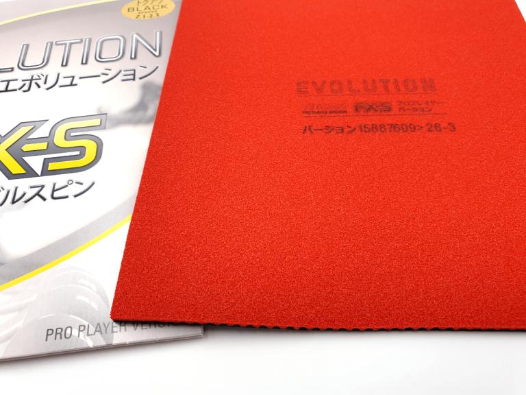 Tibhar Evolution FX-S Schwamm