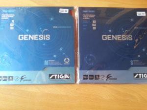 Stiga Genesis M und Stiga Genesis S