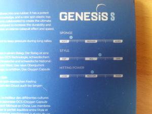 Stiga Genesis S Technische Daten