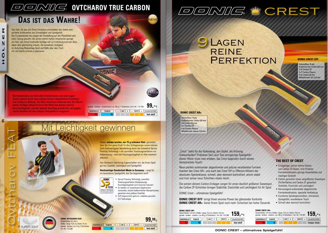 Donic Katalog 2016-17 2