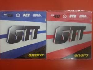 andro GTT 45 und andro GTT 40