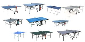 Tischtennisplatte Test