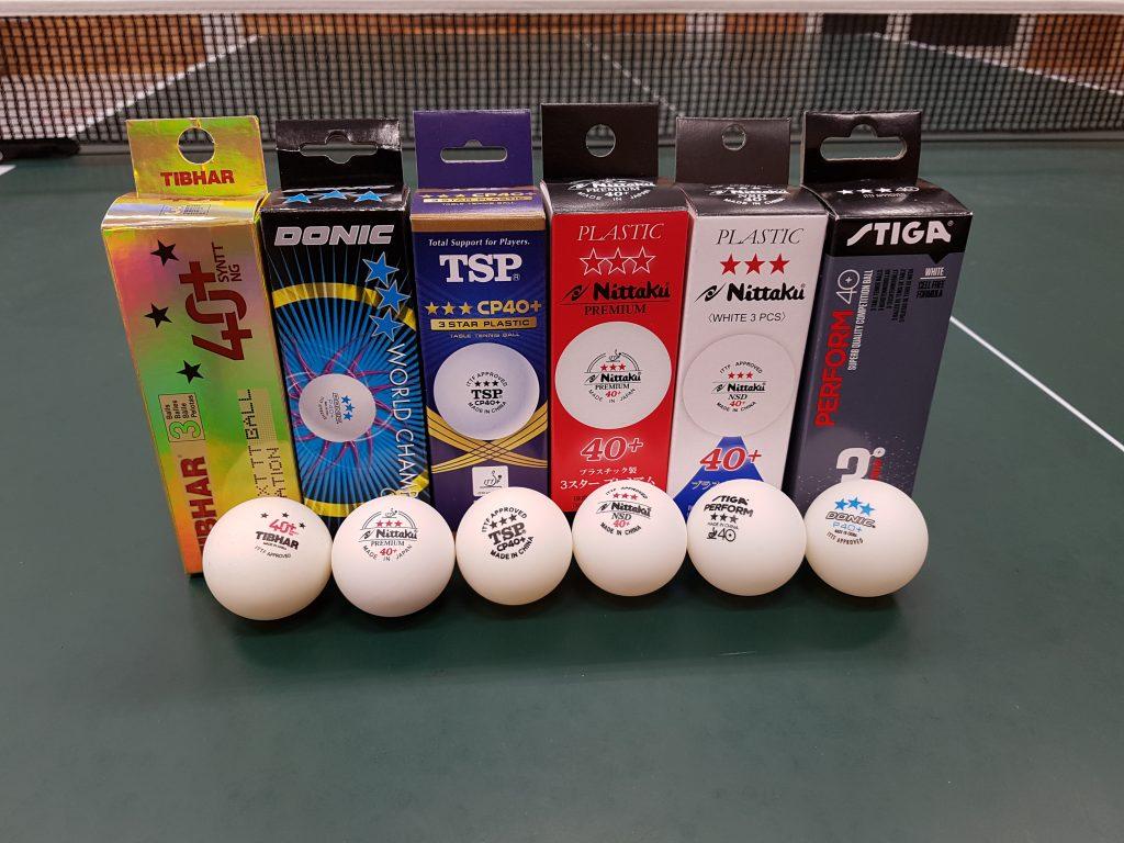 Polybälle ABS Tischtennis