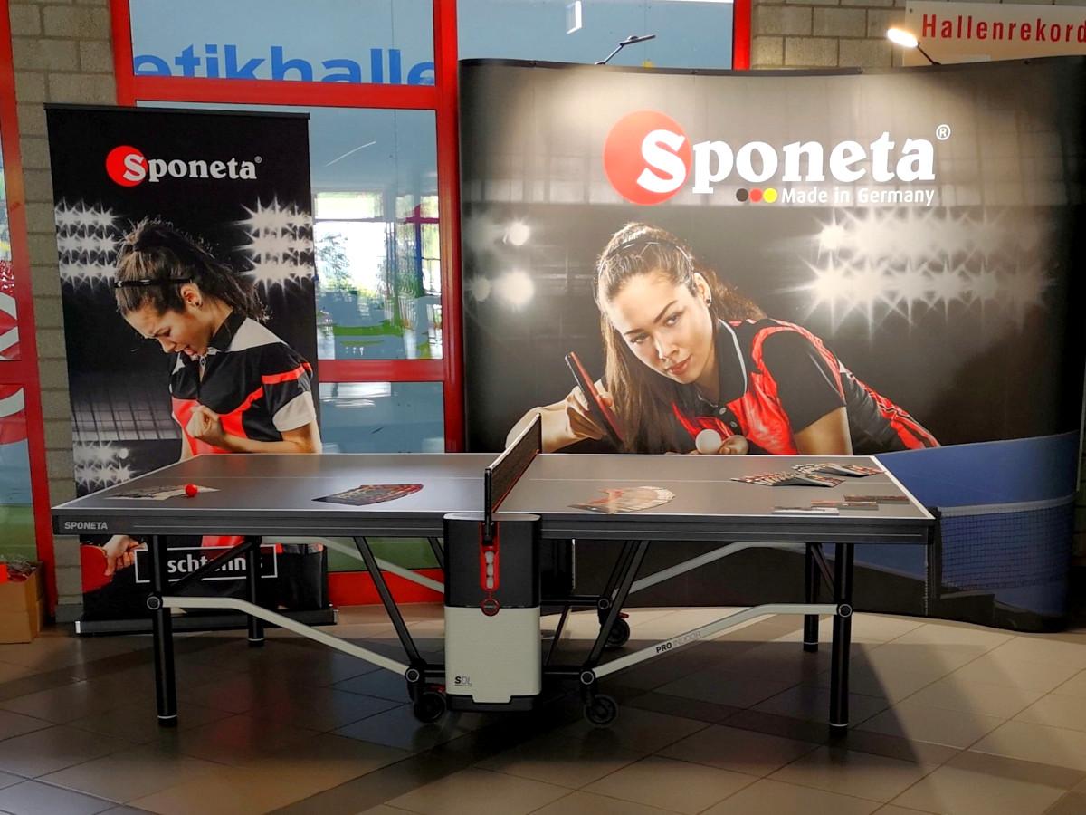 Sponeta Tischtennisplatte