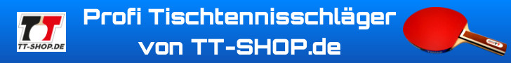 Profi Tischtennisschläger auf TT-Shop.de