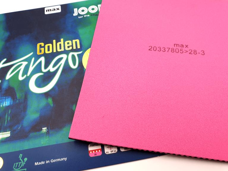 JOOLA Golden Tango PS Schwamm