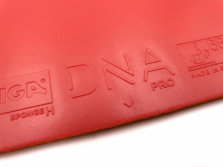 Stiga DNA Pro H Obergummi
